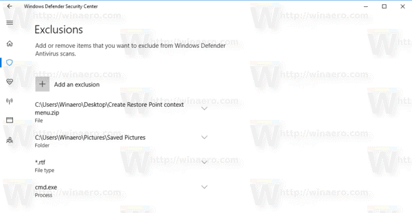 How to Add Windows Defender Exclusions