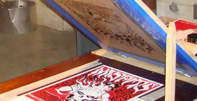 What is screen printing