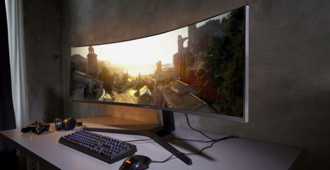 best 4k curved gaming monitors